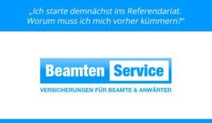 Anwärter und Referendar Beratung BeamtenService - Vergleich Kostenfrei Anfordern