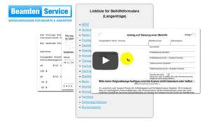 Beihilfe beantragen im Online Video bei BeamtenService